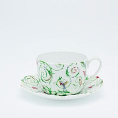 Nymphea - Colibri Tea Cup and Saucer | Royal Limoges