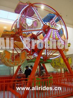 Kids fun attractions of amusement park rides double sides mini ferris wheel for sale