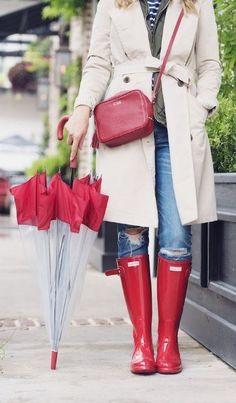 Pretty Rainy Day Style Outfits Ideas 50 Pretty Rainy Day Style Outfits Ideas - Ready To Meal Rainy Day Outfit For Spring, Rainy Day Outfit For School, Rainy Day Fashion, Winter Outfits, Summer Outfits, Casual Outfits, Fashion Outfits, Cute Rain Boots, Autumn Winter Fashion