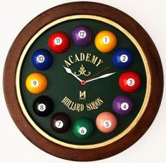 Relógio Decorativo Billiard. Encontre muito mais em www.lembreideti.com.br R$149