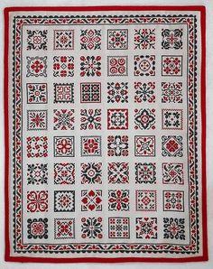 Cross Stitch Freebies, Cross Stitch Samplers, Cross Stitch Patterns, Palestinian Embroidery, Le Point, Perler Beads, Blackwork, Pillows, Flower