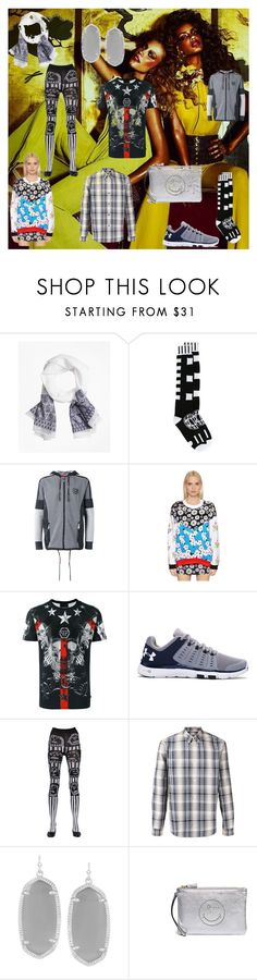"""remember me"" by emmamegan-5678 ❤ liked on Polyvore featuring Brooks Brothers, KTZ, Plein Sport, Au Jour Le Jour, Philipp Plein, Under Armour, Claire Barrow, A.P.C., Kendra Scott and Anya Hindmarch"