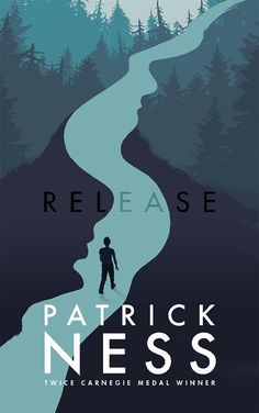 Release by Patrick Ness; design by Ben Norland; illustration by Levente Szabo (Walker Books / May 2017)