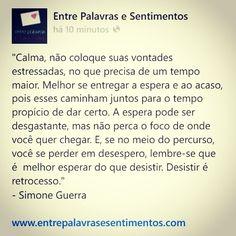 Fanpage: https://www.facebook.com/entrepalavrasesentimentos/