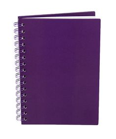 Purple Spiral Notebook - 100 Sheets from The Purple Store! Purple Love, All Things Purple, Shades Of Purple, Red And Blue, Purple Stuff, Purple Home Offices, Purple Office, My Favorite Color, My Favorite Things