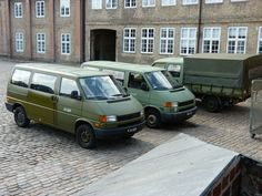 Danish military Volkswagen T4