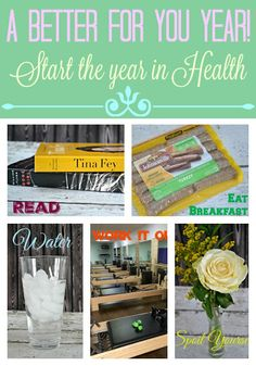 A Better For You YEAR!  New Years goal, new years resolutions, Healthy living tips, Eat Breakfast (AD)