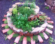 Living Tribute Spiral Garden