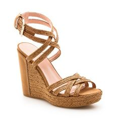Reins by Stuart Weitzman  A classic wedge style!