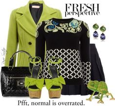 """""""Lizard Lime"""" by renee-switzer ❤ liked on Polyvore"""