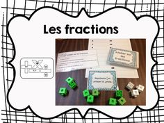 Les 3 au quotidien » Ateliers pour le 2e cycle Math 5, Math Fractions, Math Class, Fun Math, Math Games, Teaching Math, Daily 3 Math, Second Grade Math, Grade 3