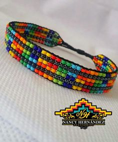 Bead Loom Designs, Bead Loom Patterns, Beading Patterns, Bead Loom Bracelets, Micro Macrame, Bracelet Tutorial, Loom Beading, Handmade Bracelets, Friendship Bracelets