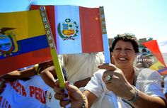 20 anni di pace tra Ecuador e Perù. 20 años de paz entre Ecuador y Perú.