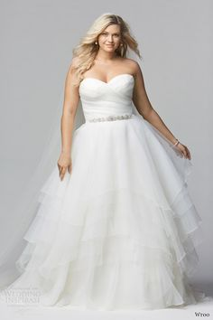 wtoo brides curve spring 2014 strapless plus sized wedding dress style 12011 cecilia