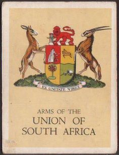 jpg - Heraldry of the World Union Of South Africa, South African Flag, Mein Land, Money Notes, Out Of Africa, My Childhood Memories, African History, Vintage Travel Posters, Coat Of Arms