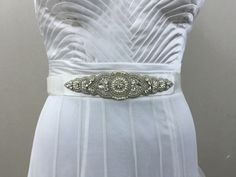 A personal favourite from my Etsy shop https://www.etsy.com/in-en/listing/400456917/bridal-sash