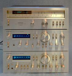 Hifi Stereo, Hifi Audio, Audio Vintage, Recording Equipment, Audio Equipment, Pioneer Audio, Retro, Vinyl Record Storage, Radios