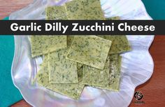 Nut-free dairy-free paleo-friendly cheese slices  Try without garlic & dill for a plain variation, and also try with plain goat cheese added!
