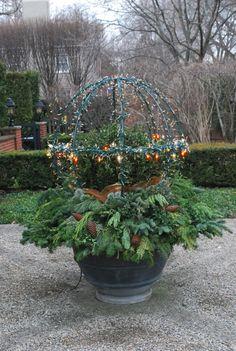 lighted-sphere, Deborah Silver, Detroit Garden Works, Branch Studio