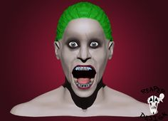 Suicide squad Joker without tattoos.