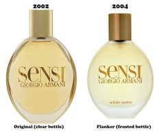 Giorgio Armani Sensi and Giorgio Armani Sensi White Notes (flanker)