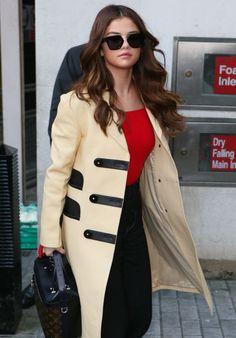 9acebca73462 Selena Gomez Style - Arriving at the Radio 1 Studios London