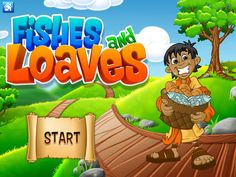 Kid Bible Heroes Fishes And Loaves