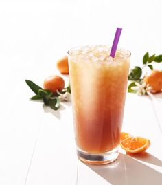coffee bean & tea leaf tangerine sweet tea