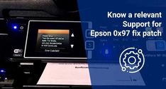 So you are a user of this world's top printer manufacturer Epson. It is excellent to go. However, you're not satisfied, Right? Well! In case your Epson Printer ceases performing as usual as it should be. Do not worry! We will attempt to cover most of the standard and specialized printer issues within our unique set of sites. Here, we will allow you to come across the Epson 0x97 fix patch problem with your printers. Epson, Printers, No Worries, Patches, Cover, Unique, Top, Crop Shirt, Shirts