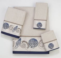 Hampton Shells Bath Towel