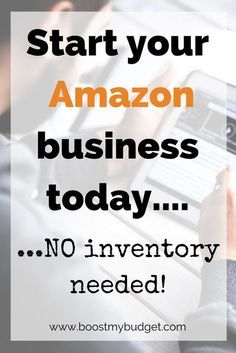 How to start selling on Amazon WITHOUT any stock. You can start an Amazon business that will be up and running today, and you don't need to handle any inventory yourself. In fact, once the system's set up, it's almost passive income! I've been trying it for a couple of weeks - here's my write up.
