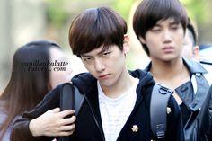 EXO baekhyun funny face