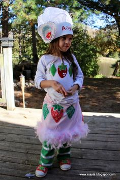 Imagination Station: Aaylas Strawberry Shortcake birthday party