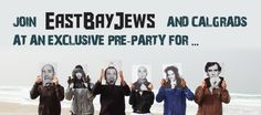 Our pre-party for the Jewish Music Festival's Hadag Nahash concert, co-sponsored by CalGrads and the JCC of the East Bay