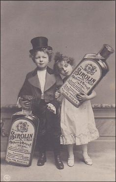 RP: Sirolin Cough Syrup Foreign Advertising Postcard , Basel , Switzerland , 00-10s