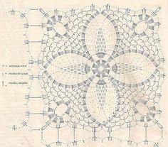 Patterns and motifs: Crocheted motif no. 561