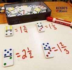 5 Hands-On Activities for Teaching Fractions that your Students will LOVE! #learnmathforadults #mathtutoring