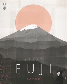 Discover recipes, home ideas, style inspiration and other ideas to try. Monte Fuji Japon, Japanese Art Modern, Japanese Wall Art, Japan Illustration, Fantasy Illustration, Digital Illustration, Frida Art, Japanese Poster Design, Kunst Poster