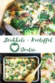 Gratinierte Brokkoli Kartoffel
