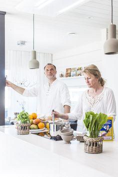 Puustelli Kitchen is emission free, ecological and durable. Honka Harmonia. Puustelli keittiö / kök