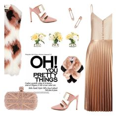 """""""Pretty things"""" by pensivepeacock ❤ liked on Polyvore featuring Fendi, Miss Selfridge, Alexander McQueen, Ted Baker, The Mode Collective and NDI"""