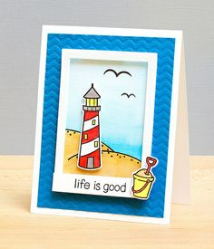 Life Is Good by stripey fish (Jean M), via Flickr