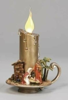 """Pack of 4 Inspirational Led Holy Family Christmas Scene Candles 7"""" by Roman. $91.99. Pack of 4 Led Holy Family Candles From the Inspirational Gifts Collection, By Roman Inc. Item #38458Dimensions: 7""""HMaterials: Acrylic/ResinPack includes 4 of the item shown. Save 11% Off!"""