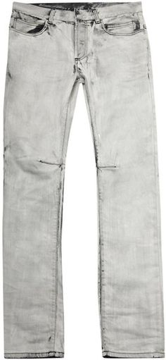 Shop Men's Balmain Straight-leg jeans on Lyst. Track over 1058 Balmain Straight-leg jeans for stock and sale updates. Bleached Jeans, Guy Style, Balmain, Man Shop, Mens Fashion, Denim, Clothes, Moda Masculina, Outfits