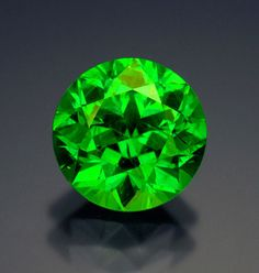 var. demantoid (andradite) from Ural Mountains, Russia, 4.55 carats. (Photo: Wimon Manorotkul) All pieces from the collection of Bill Larson.