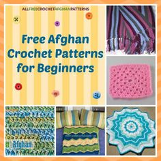 New to crochet? Check out these 26 free afghan crochet patterns for beginners. Start small with these easy crochet afghan patterns.
