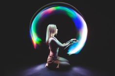 Solar-wind light-painting by Eric Paré - Photo 76117175 - Light Painting Photography, Dark Photography, Creative Photography, Portrait Photography, Magical Photography, Motion Photography, Experimental Photography, Animal Art Projects, Portrait Lighting