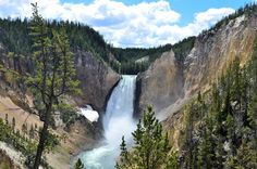 Lower Falls of Yellowstone Photo by Juan Herrera -- National Geographic Your Shot