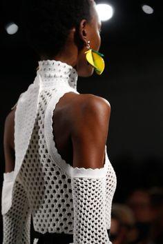 forlikeminded:     Proenza Schouler - New York... - beautiful knitting