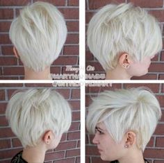 20+ Blonde Pixie Hairstyles   Pixie Cut 2015